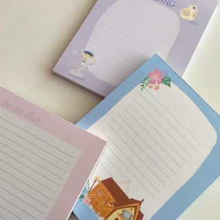 Various Notepads