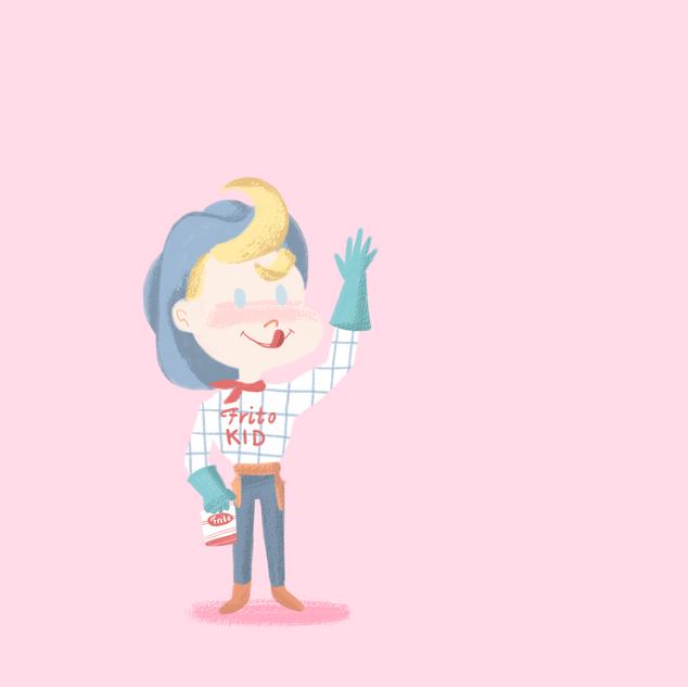 frito kid