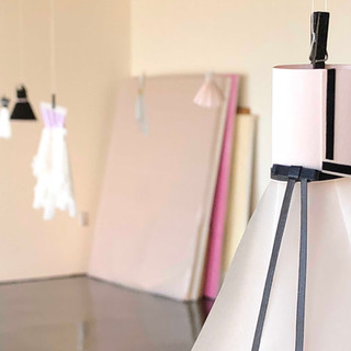 Paper Pleats Installation