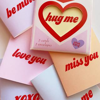 Candy Heart Card Set
