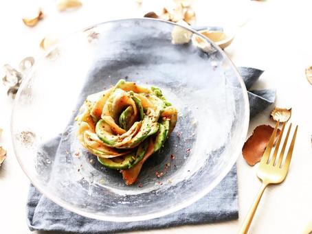 【レシピ付き】そのアボカド、薔薇の如し。アボカドローズ