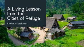 Va'eschanan: A Living Lesson from the Cities of Refuge