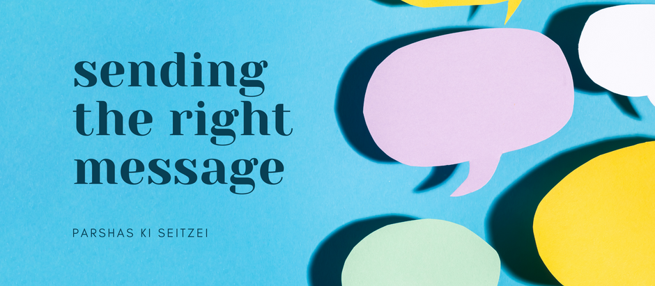 Ki Seitzei: Sending the RIGHT Message