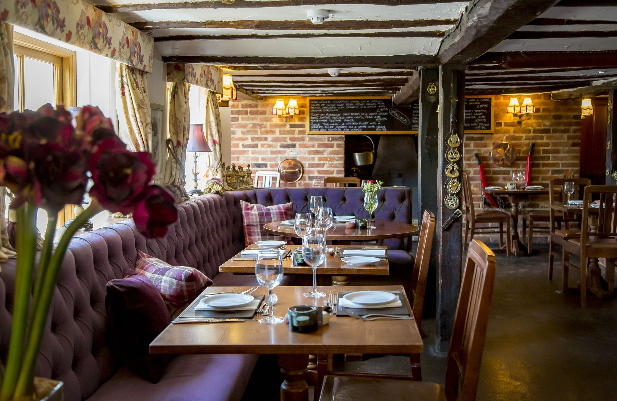 Restaurant layout - Cricketers