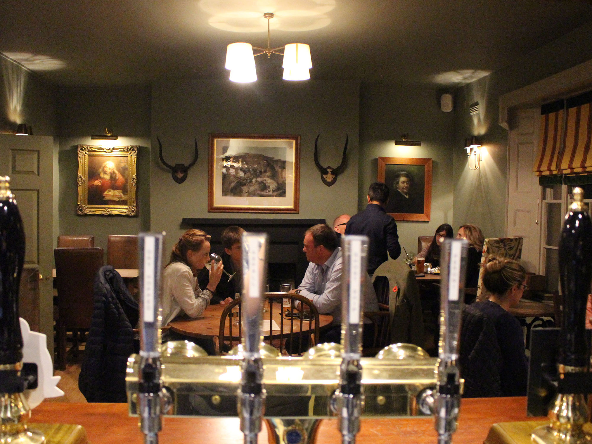 Dine at The Black Lion, Long Melford