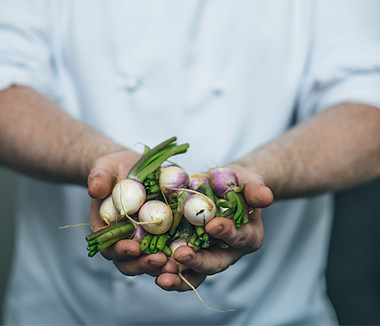 Locally sourced ingrediants