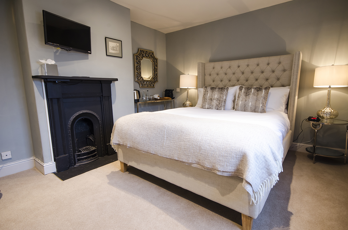 Snug Room - The Black Lion in Long Melford
