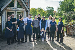 The staff at The Packhorse Inn, Moulton