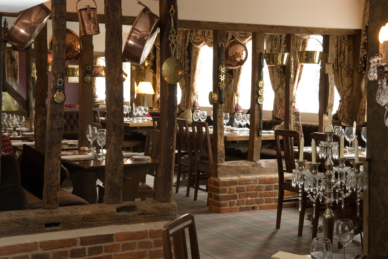 Restaurant - Old Wooden Beams