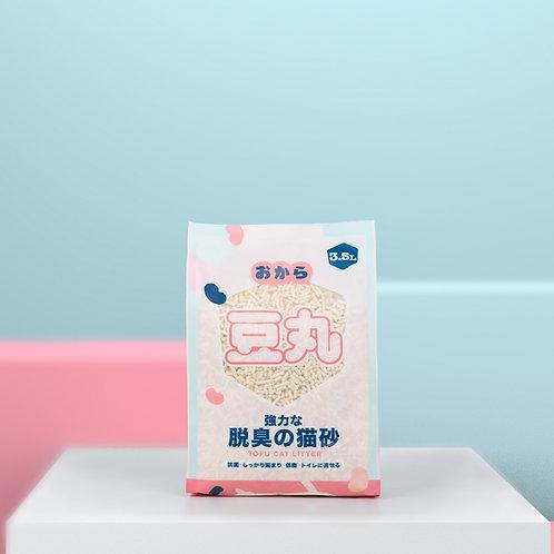 豆丸 天然原味豆腐砂3.5L