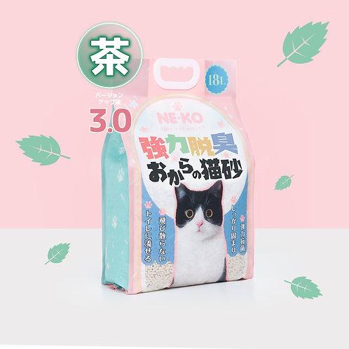 (抗疫優惠)NE-KO 3.0綠茶天然豆腐砂18L x 9包