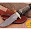 Thumbnail: DAMASCUS STEEL SKINNER HUNTING KNIFE - AJ 1117