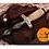 Thumbnail: DAMASCUS STEEL KRIS BLADE DAGGER KNIFE  - AJ 540