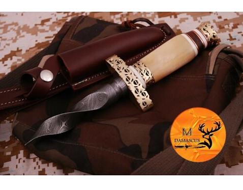 DAMASCUS STEEL KRIS BLADE DAGGER KNIFE  - AJ 540