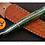 Thumbnail: DAMASCUS STEEL THROWING BOOT DAGGER KNIFE - AJ 1383