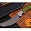 Thumbnail: DAMASCUS STEEL SKINNER HUNTING KNIFE - AJ 1344