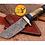 Thumbnail: DAMASCUS STEEL SKINNER HUNTING KNIFE - AJ 1123