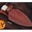 Thumbnail: DAMASCUS STEEL THROWING BOOT DAGGER KNIFE - AJ 868