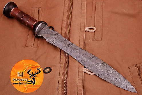 DAMASCUS STEEL SWORD- AJ 735