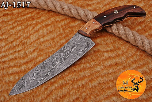 DAMASCUS STEEL CHEF KNIFE- AJ 1517
