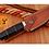 Thumbnail: DAMASCUS STEEL SKINNER HUNTING KNIFE - AJ 1247