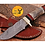 Thumbnail: DAMASCUS STEEL SKINNER HUNTING KNIFE - AJ 1120