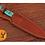 Thumbnail: DAMASCUS STEEL THROWING BOOT DAGGER KNIFE - AJ 1266