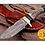 Thumbnail: DAMASCUS STEEL SKINNER HUNTING KNIFE - AJ 1114