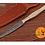 Thumbnail: DAMASCUS STEEL THROWING BOOT DAGGER KNIFE - AJ 1268