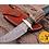 Thumbnail: DAMASCUS STEEL SKINNER HUNTING KNIFE - AJ 1108