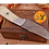 Thumbnail: DAMASCUS STEEL SKINNER HUNTING KNIFE - AJ 1041