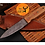Thumbnail: DAMASCUS STEEL THROWING BOOT DAGGER KNIFE - AJ 976