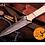 Thumbnail: DAMASCUS STEEL THROWING BOOT DAGGER KNIFE - AJ 684