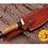 Thumbnail: DAMASCUS STEEL SKINNER HUNTING KNIFE - AJ 1111