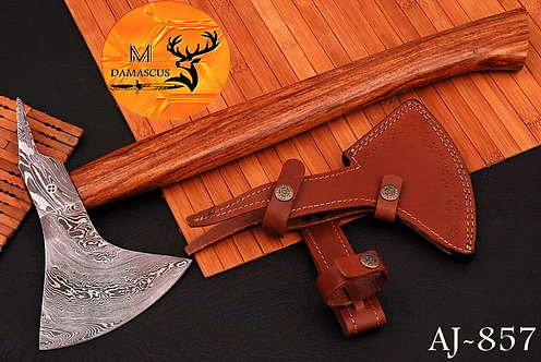 DAMASCUS STEEL AXE - AJ 857
