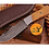 Thumbnail: DAMASCUS STEEL SKINNER HUNTING KNIFE - AJ 1050