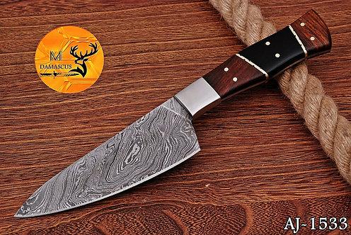 DAMASCUS STEEL CHEF STEAK KNIFE- AJ 1533