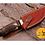 Thumbnail: DAMASCUS STEEL SKINNER HUNTING KNIFE - AJ 1115