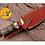 Thumbnail: DAMASCUS STEEL SKINNER HUNTING KNIFE - AJ 1116
