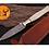Thumbnail: DAMASCUS STEEL THROWING BOOT DAGGER KNIFE - AJ 864