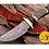 Thumbnail: DAMASCUS STEEL SKINNER HUNTING KNIFE - AJ 1112