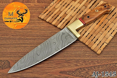 DAMASCUS STEEL CHEF KNIFE- AJ 1545