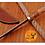 Thumbnail: DAMASCUS STEEL HUNTING SKINNER KNIFE - AJ 1459