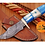 Thumbnail: DAMASCUS STEEL SKINNER HUNTING KNIFE - AJ 1242