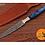 Thumbnail: DAMASCUS STEEL THROWING BOOT DAGGER KNIFE - AJ 1267