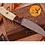 Thumbnail: DAMASCUS STEEL SKINNER HUNTING KNIFE - AJ 1054