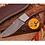 Thumbnail: DAMASCUS STEEL SKINNER HUNTING KNIFE - AJ 1052