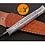 Thumbnail: DAMASCUS STEEL THROWING BOOT DAGGER KNIFE - AJ 1384