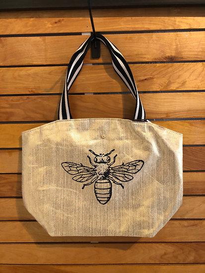 Shimmer Bumble Bee Beach Bag