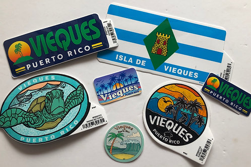 Vieques Stickers
